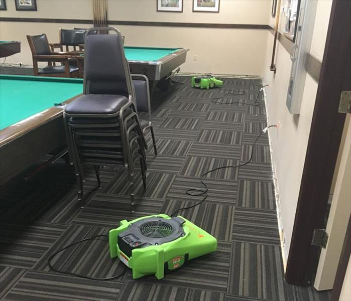 Spokane Game Room Water Damage