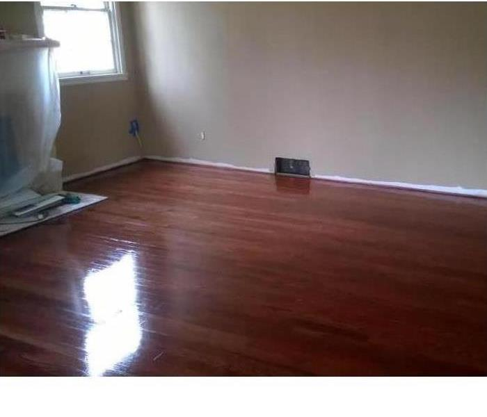 Refinished Hardwood Floors After Fire Damage in Spokane, WA